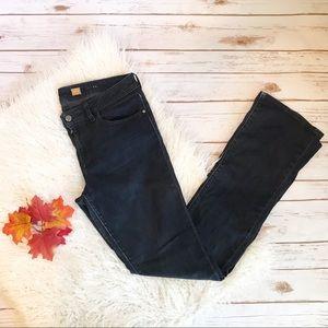 Pilcro and the Letterpress Dark Straight Leg Jeans